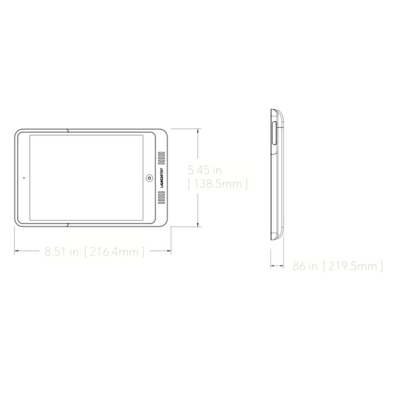 LaunchPort AM.2 Sleeve - iPad mini  1 2  3 4